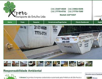 web site Trevo caçambas