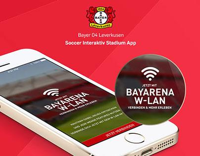Soccer: Bayer 04 Leverkusen Stadium App