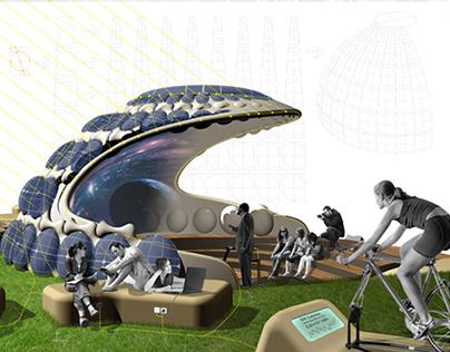 """Living in Cloud"" Conceptual Design in AGER Boston"