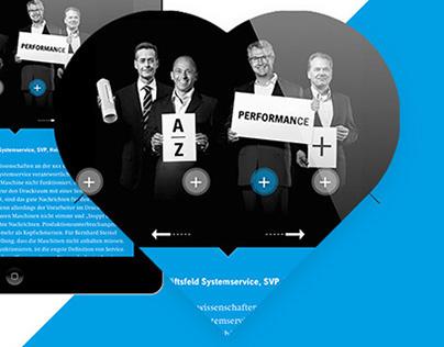 Heidelberg Online GB Microsite