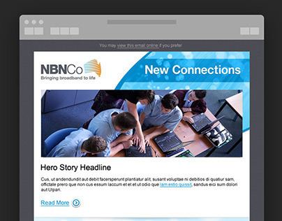 NBNCo Email Newsletters