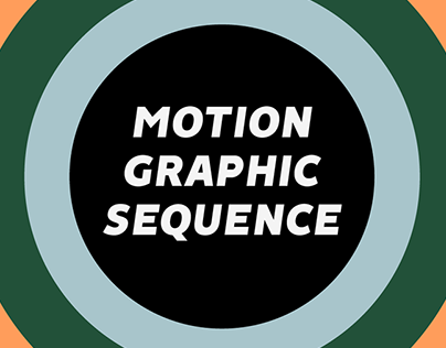 Motion Graphic Sequence