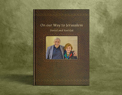 On our Way to Jerusalem - Book Design