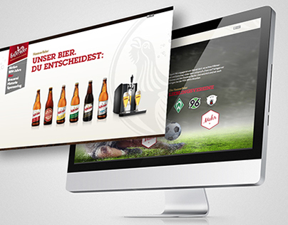 Hasseröder Website Relaunch 2013