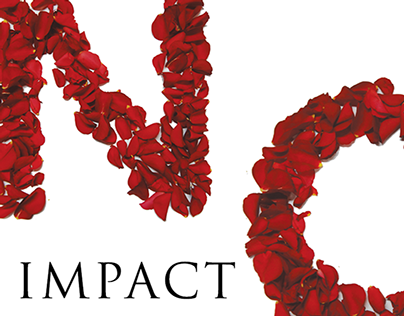 IMPACT- Hand made typeface project