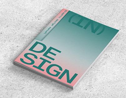 (In)Design - Graphic Design Manual