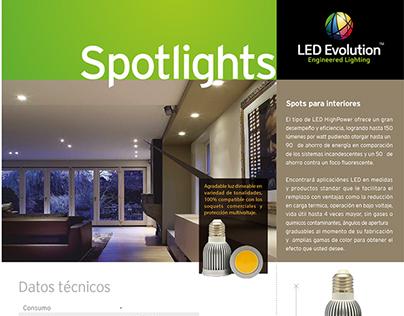 LED Evolution • Branding Project