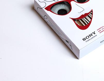 SONY headphone package