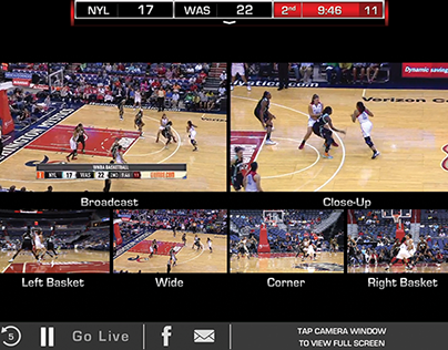 Mystics Live iPhone / iPad Video Streaming App