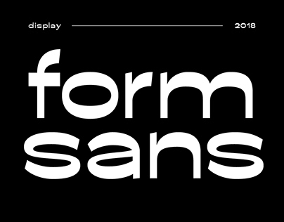 Form Sans