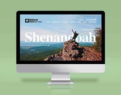 Shenandoah National Park Landing Page