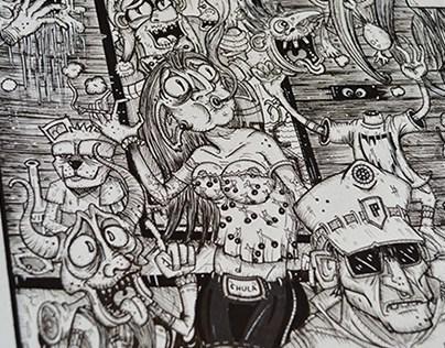 Aurélien Longo - Illustration for Bilbok Magazine