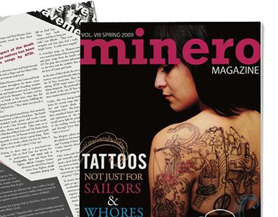 Minero Magazine - Art Director