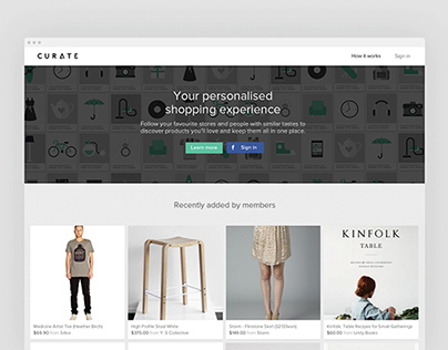 Curate.co.nz - New Zealand's newest shopping experience