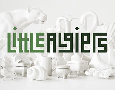Little Algiers Café identity