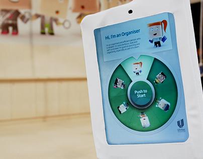 Unitec YouFinder iPad Application