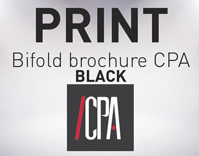 PRINT / Plaquette CPA Black