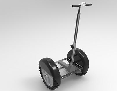 Segway 3D Model