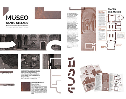 MUSEO SANTO STEFANO // Identity e Wayfinding