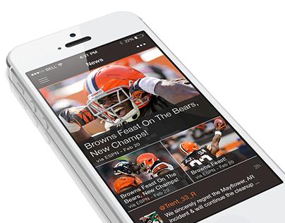 NFL Concept App