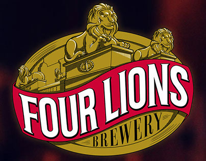 Four Lions Brewery: Branding