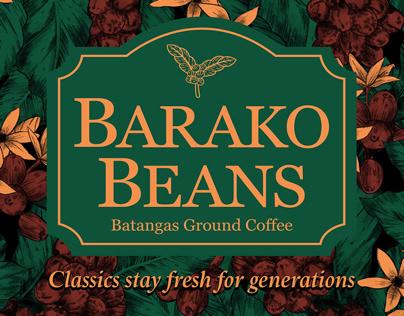 Barako Beans Ground Coffee Branding & Packaging