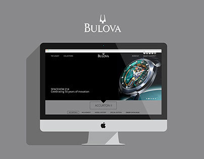 Bulova Website Concept