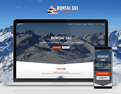 Bonsaï Ski School | Website