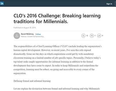EdCast and Informal Learning - Daniel McKelvey