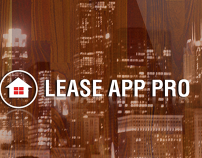UI UX Work - Lease App Pro iOS