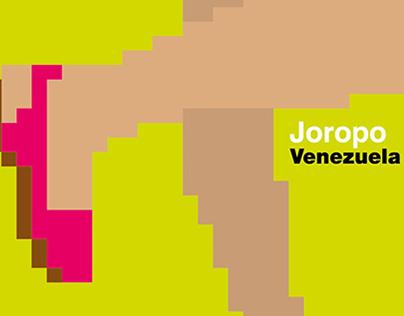 Cartel Joropo de la serie El Color de la Fiesta