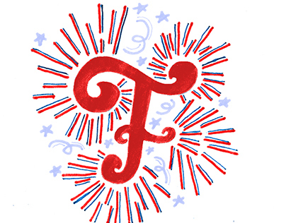 F is for Fireworks