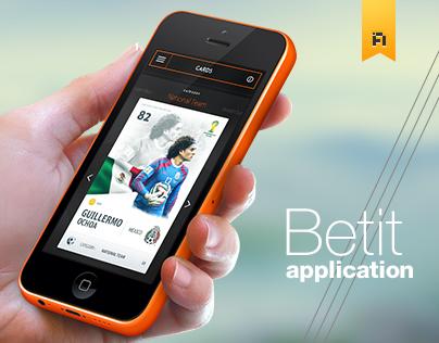 Betit Mobile App - Football