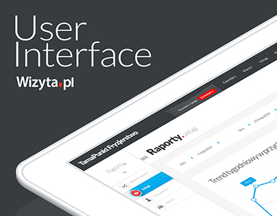 User Interface - Wizyta.pl