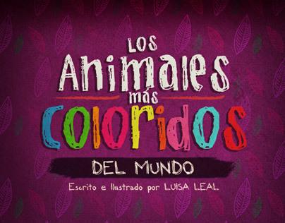 Los Animales Más Coloridos del Mundo (Pop-up book)