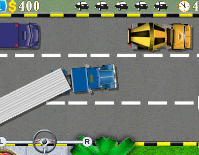 "mobile game ""Parking Mania"""