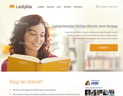 Publishing Web Application