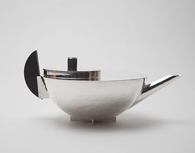 Bauhaus Teapot Reproduction
