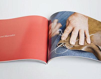 brochure for an interior design company