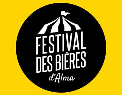 Festival des bières d'Alma - Branding - Beer festival
