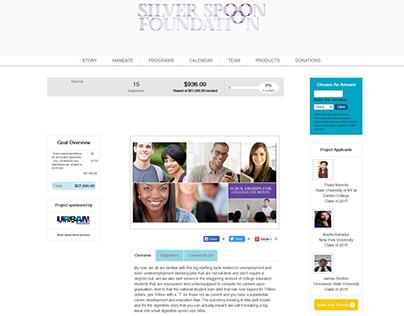 Silver Spoon Foundation Nonprofit (WordPress)