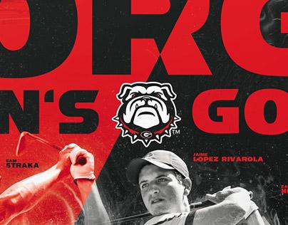2015 UGA Men's Golf Poster