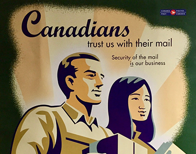 Canadians Trust Us With Their Mail: poster