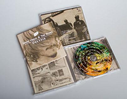 Simon Urbas - Dnevnik (Album cover & booklet)