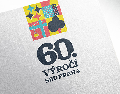 60th anniversary of SBD Praha — visual identity