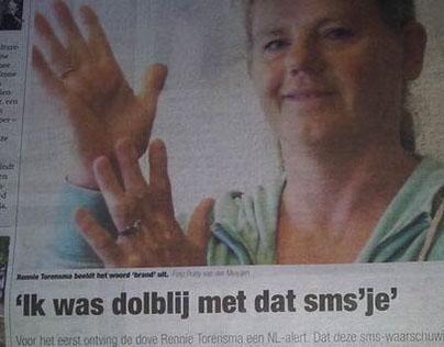 Dove Rennie blij met NL-alert - HaH Lwd'en 28-06-2014