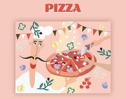 Gastronomic illustrations, Visual identification
