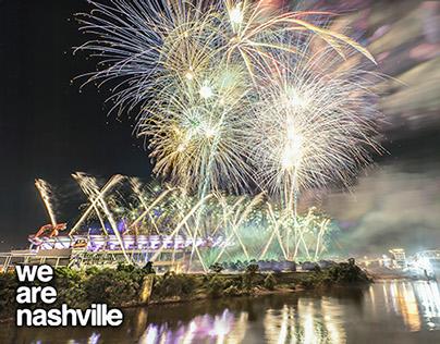 Nashville, TN Independence Day Fireworks