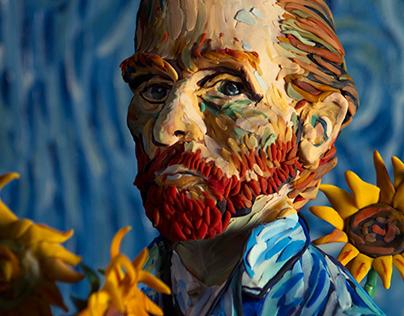 Plasticine Portraits