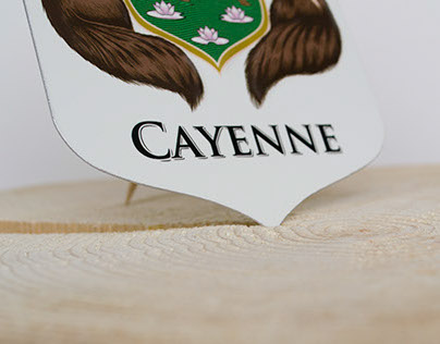 Coat of Arms X Cayenne
